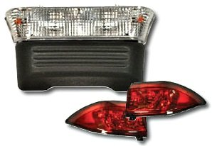 Basic Light Kit for Electric Club Car Precedent Golf Cart, '04-'07