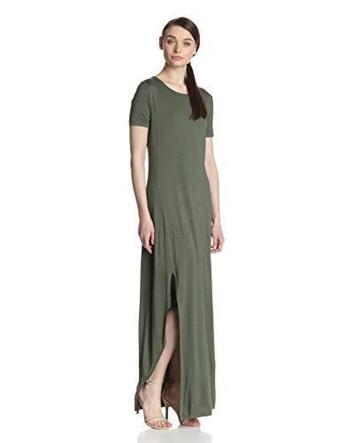 Three Dots Women's Maxi Tee Dress with Slits