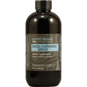 Peaceful Mountain Ionic Colloidal Silver -- 6 fl oz