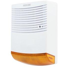 Sirene alarme maison factice effet disuassif avec - Alarme maison sirene exterieure ...