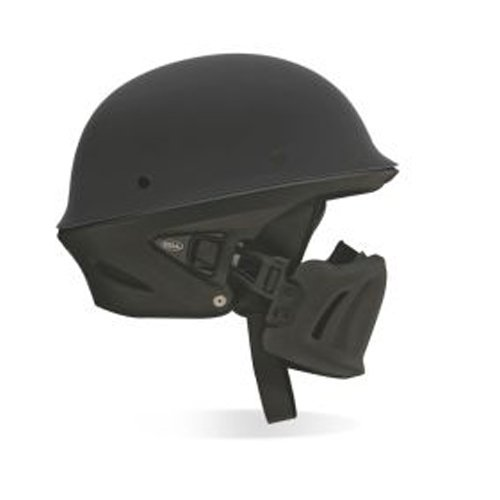 2013 Bell Rogue Motorcycle Helmets - Solid - Matte Black - Medium