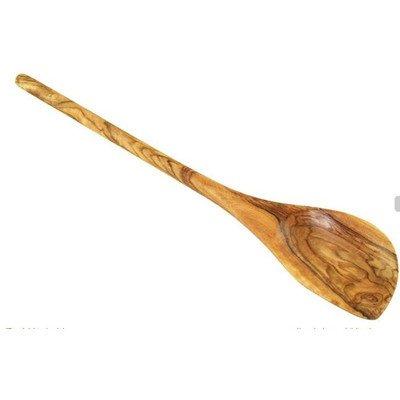 D.O.M. Cuillère pour la cuisine arrondie en bois d'olivier 30 cm.