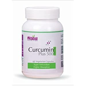 Zenith Nutritions Curcumin Plus - 500 Mg, 60 Capsules