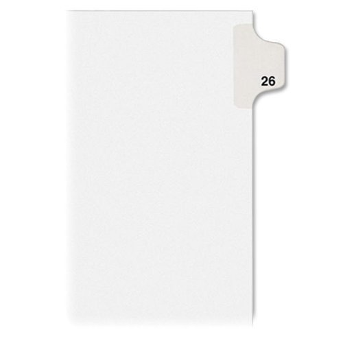 allstate-style-legal-side-tab-divider-title-26-letter-white-25-pack-by-avery-dennison