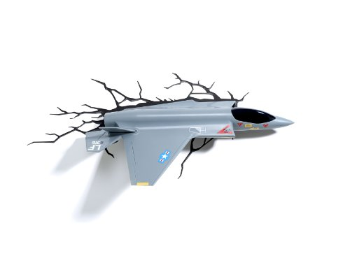 Fighter Jet 3D Wall Deco Night Light
