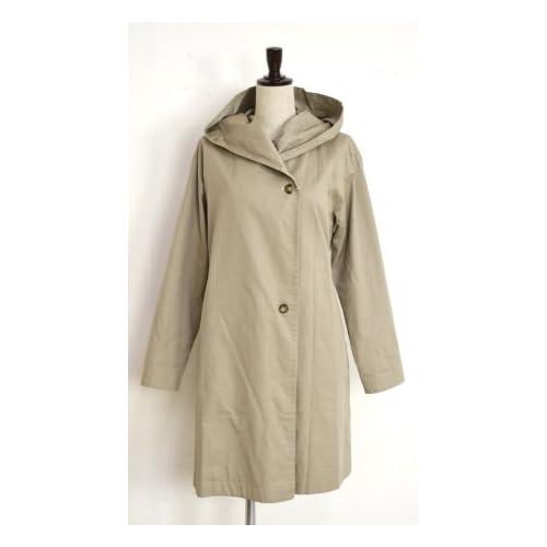 (FC151-10052) HARRISS(ハリス) ウエストリボン/トレンチロングコート/ジャケット36サイズ 61.BEIGE