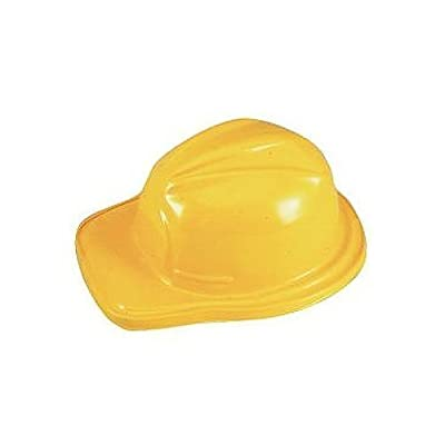 Child Construction Hats - 12 Pack - Yellow by Rhode Island Novelty