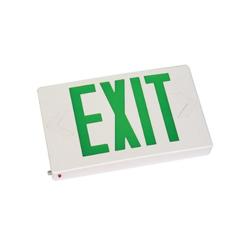 EtopLighting LED Green Exit Sign light with Battery Backup, AGG1016
