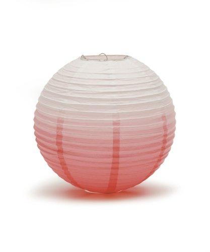 Ombre-Coloured-Round-Paper-Globe-Lanterns-Watermelon