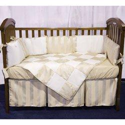 Fancy Sensation Crib Bedding Set Gold