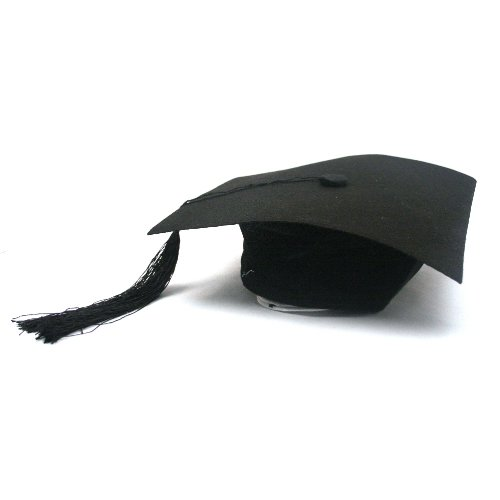 Deluxe Felt Adjustable Grad Cap