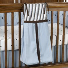 1 X BRANDON BLUE DIAPER STACKER