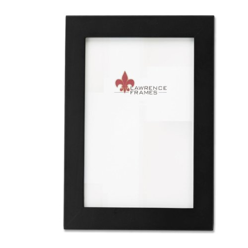 Lawrence Frames Black Wood 8 by 12 Picture Frame (Table Top Frames compare prices)