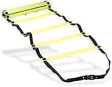 Escalera para entrenamiento de velocidad, agilidad y juego de piernas, para fútbol y hockey, 4 metros