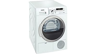Siemens WT46B201IN Condensed Font-loading Tumble Dryer (8 Kg, White)