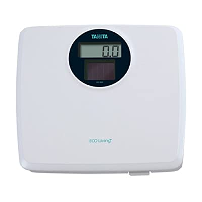 Tanita HS-302 White Solar Powered Digital Bathroom Scale