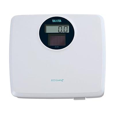 Tanita HS-302 White Solar Powered Digital Bathroom Scale