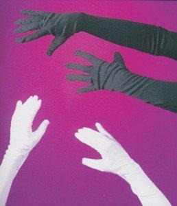 Gloves Child White Opera 15In Accessory