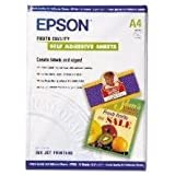 Epson Photo Quality Self Adhesive Sheets Feuilles Autocollantes