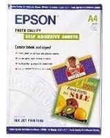 Epson Photo Quality Self Adhesive Sheets Feuilles Autocollantes
