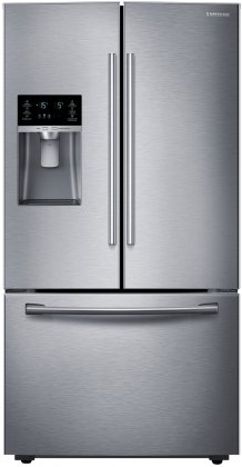 Samsung RF28HFEDBSR Energy Star 28 Cu. Ft. French Door Refrigerator with Cool Select Pantry and Freezer Drawer, Stainless Steel Reviews