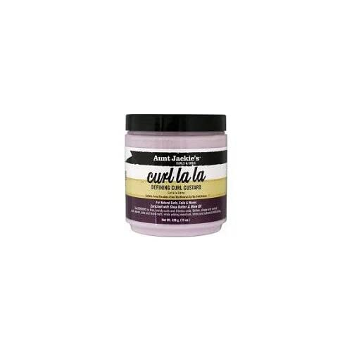 Amazon.com : Aunt Jackie's Curl La La Defining Curl Custard 9 oz. Jar