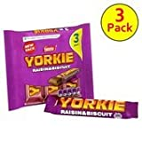 Nestle Yorkie Raisin & Biscuit 3 X Pack 159G