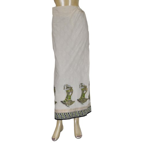 Spring Summer Fashion Skirt Long Printed Cotton Dress Size 16