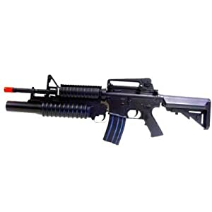 Boyi M4 M16 Grenade Electric Airsoft Rifle LPEG