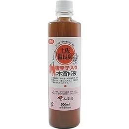 唐辛子入り木酢液 500ml