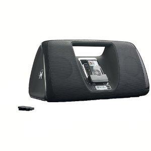 Memorex Mi3005BLK iMove Boombox for iPod (Black)