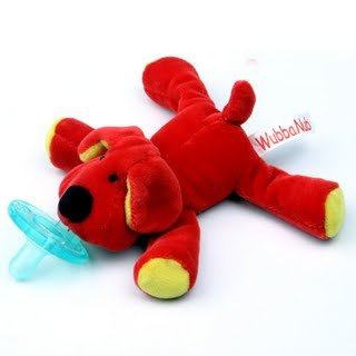 Wubbanub Infant Plush Toy Pacifier - Dog front-603483