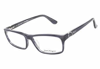 Designer Eyeglass Frames Only : Amazon.com: Salvatore Ferragamo Designer Eyeglass ...