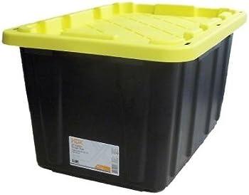 HDX 27 Gal. Polypropylene Storage Tote