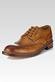 Savile Row Inspired Leather Goodyear Welted Brogue Shoes