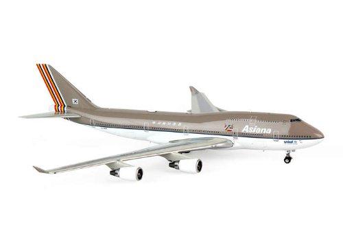 Phoenix Asiana 747-400 1/400 Old Livery REG#HL7418