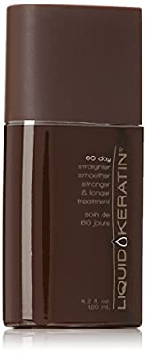 Liquid Keratin New 60 Day Hair Straighter, 4.2 Ounce