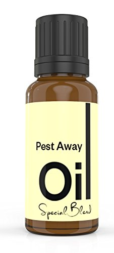 Cielune Pest Away Natural Insect Repellent Essential Oil - 100% Pure Therapeutic Grade Essential Oil Blend Repels All Types of Insects - Nontoxic, No Pesticides or Insecticides - 10ML
