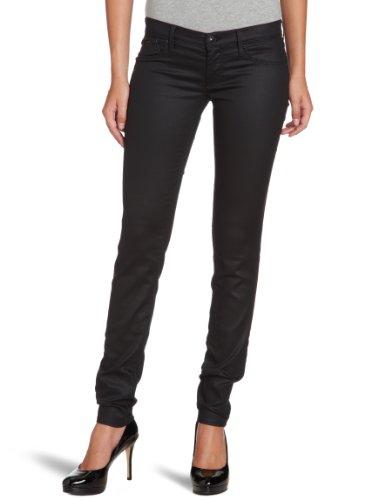 GAS - Jeans slim fit, donna, Nero (Schwarz (BLACK 0200)), 29- DE