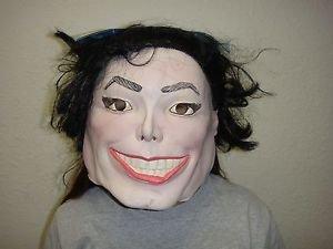 [MICHAEL JACKSON PLASTIC MAN ADULT VINYL HALLOWEEN MASK] (Michael Jackson Black Or White Costume)