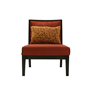 microfiber accent chair on Strafford Red Microfiber Accent Chair  Amazon Com  Home   Kitchen