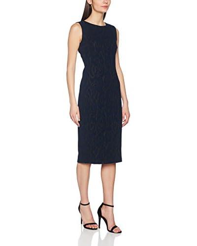 MAIOCCI Vestido Azul / Negro