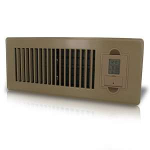 Vent-Miser 91665-BR Programmable Enery Saving Vent, 12-by-4-Inches, Brown