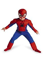 Spider-Man Toddler Muscle Child Costume SIZE:S (2T)