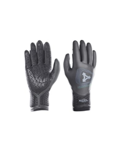 Xcel Hawaii Infiniti Drylock 5-Finger Glove 5Mm Black, M