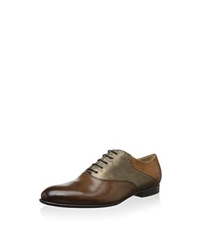 Melvin & Hamilton Zapatos Oxford Sally 10 Gris / Amarillo