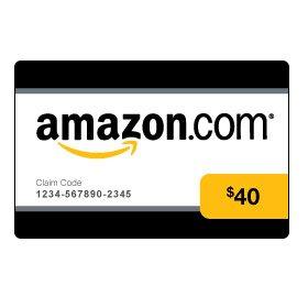 Amazon.com $40 Gift Card (0144)