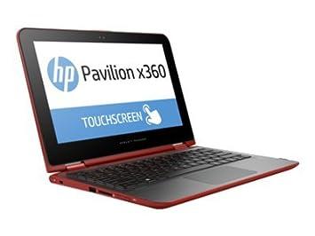 Hewlett Packard - HP Pavilion x360 11-k003nf - Conception inclinable - Celeron N3050 1.6 GHz - Windows 8.1 64 bits - 4 Go RAM - 500 Go HDD - sans lecteur optique - 11.6'' écran tactile 1366 x 768 ( HD ) - Intel HD Graphics - argent cendré, d