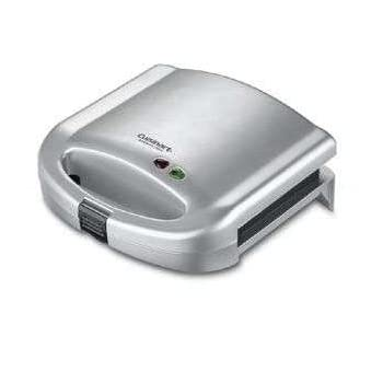 Cuisinart Sandwich Grill The Cuisinart Sandwich Grill does more than lunch. This versatile Cuisinartproduct also makes omelets and French toast! Designed to grill two items at a time, it is perfect for breakfast, lunch or light dinners.Features:* Gri...