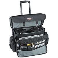 Tamrac 5263 Black CyberPro Express Rolling Photo/Laptop Briefcase (Black)